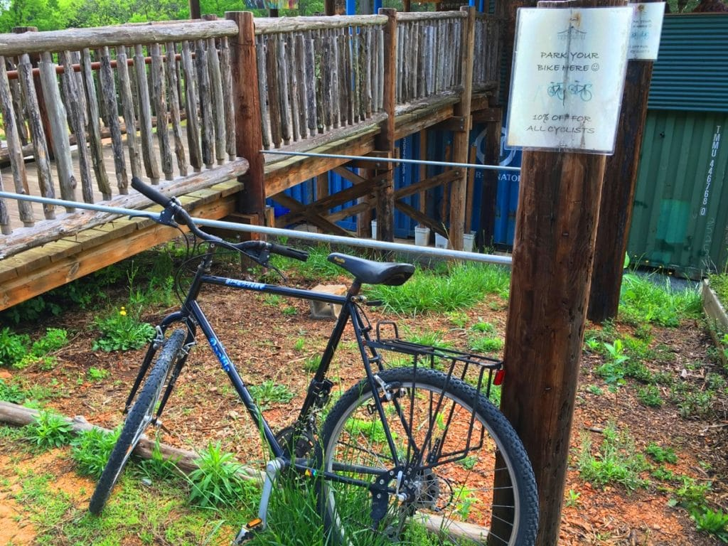 Honeysuckle Tea House Chapel Hill North Carolina NC Bike Discount
