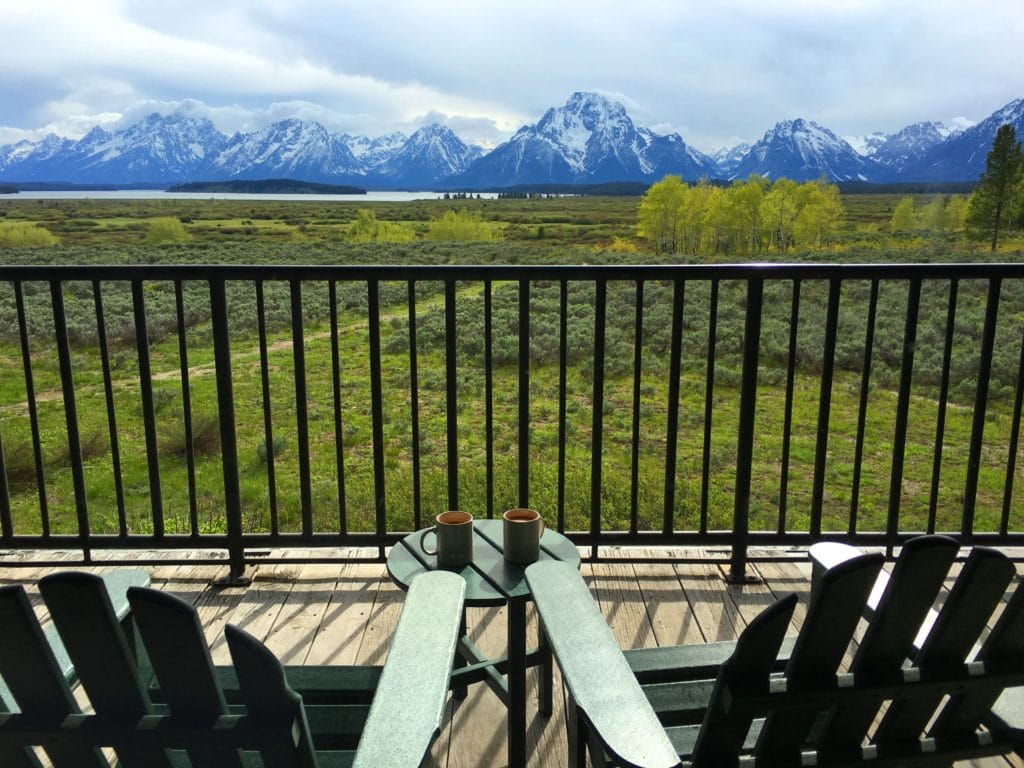 Grand Teton National Park Wyoming Jackson Lake Lodge Room