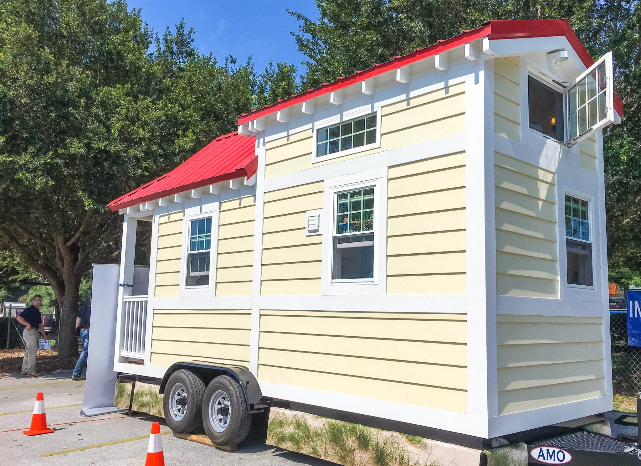 84 Lumber Tiny Living Tiny Homes Tour