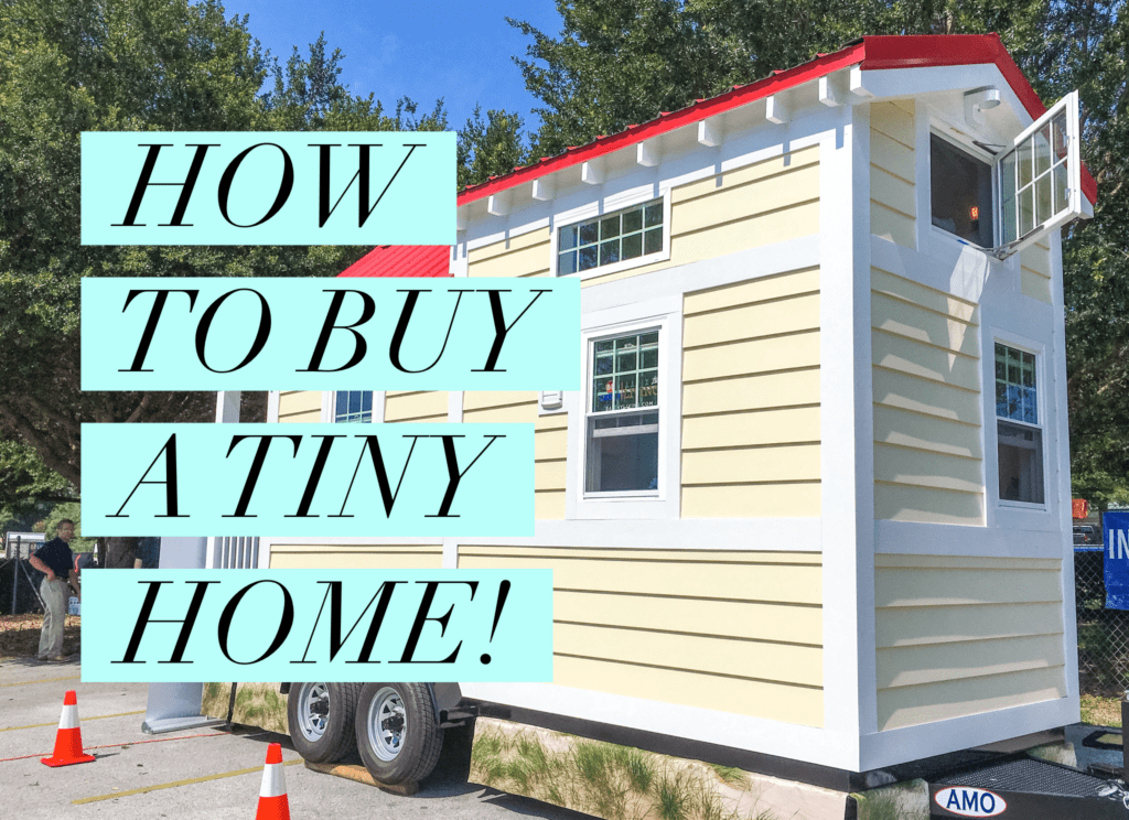 Tiny Home from 84 Lumber Building Supply Store Pre-Built