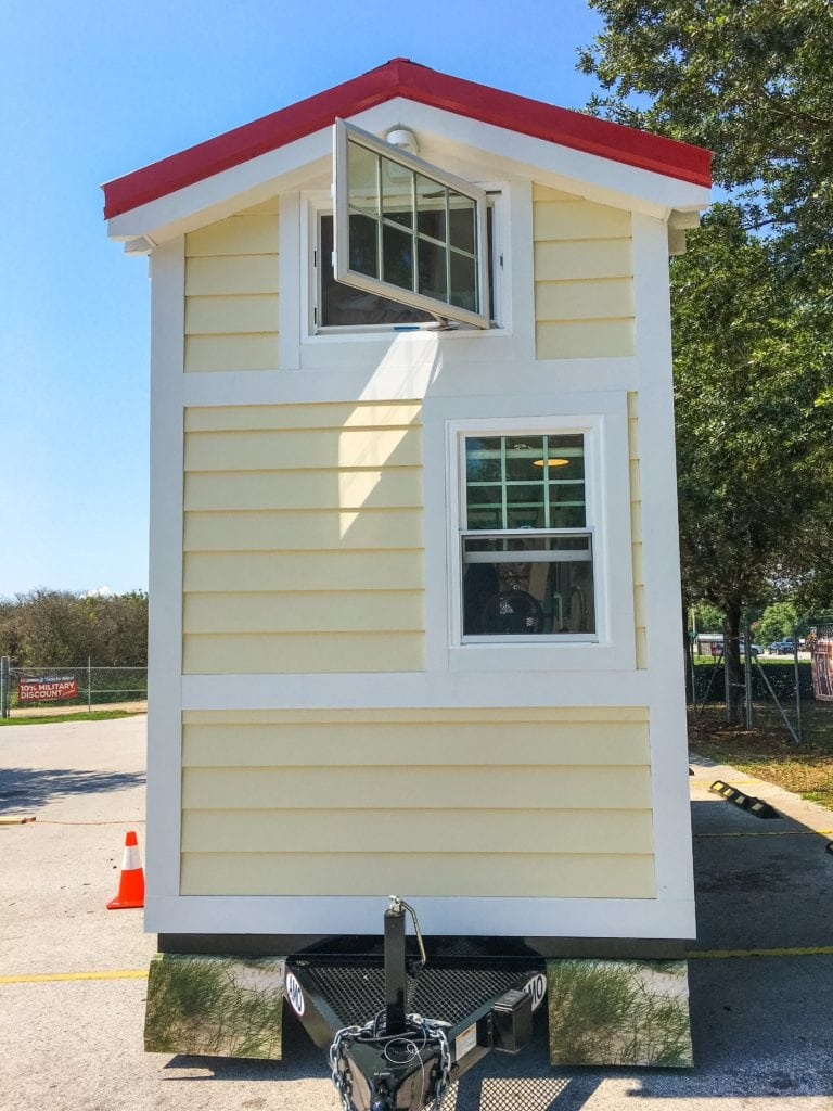 Pre built tiny homes at building supply store 84 lumber for Already made houses