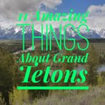 11 Amazing Things About Grand Teton National Park