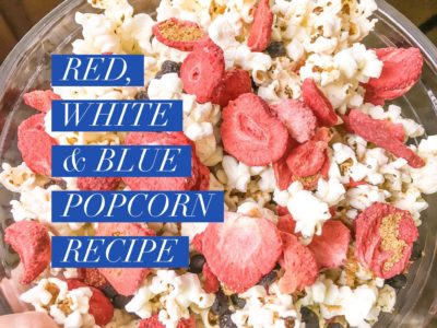Red, White and Blue Popcorn Recipe