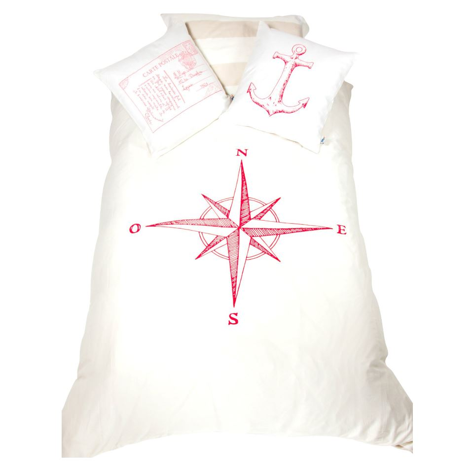 Atelier Edele Red Natutical compass Rose