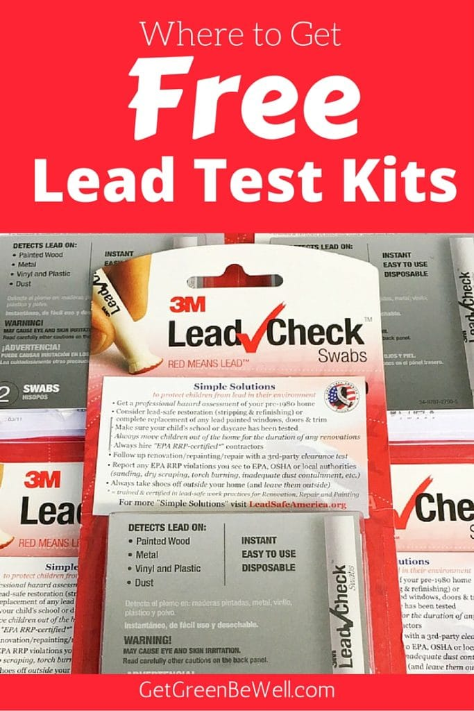 How to Get Free Lead Test Kits