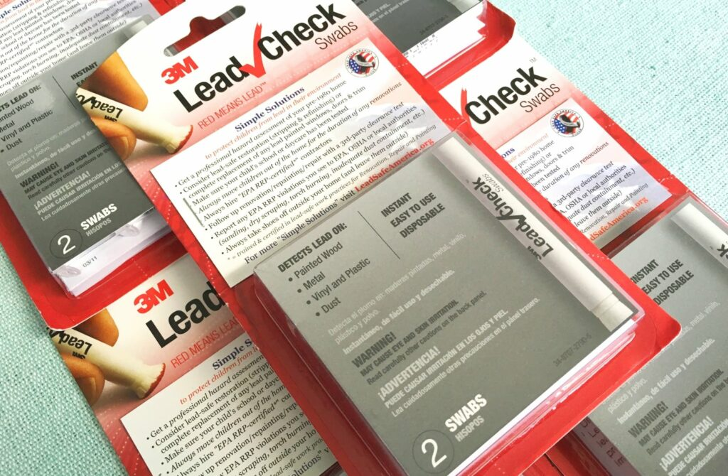 Where to get Free lead test kits. Really important if you have kids, or live in a house built before 1978.