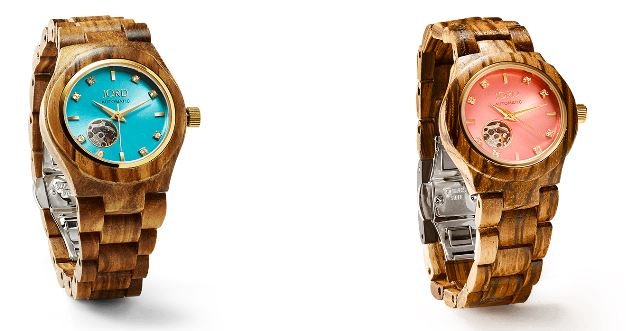 Women's Luxury Hand Crafted Wooden Watch by JORD. Sustainable Fashion.