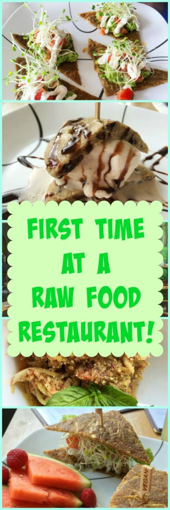 What's a raw food restaurant really like? I try one for the first time. What happened next was amazing!