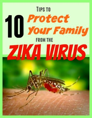Mosquitoes are the deadliest animal! It's true. These 10 tips help to prevent your family from getting mosquito bites while traveling, outdoors or at home.