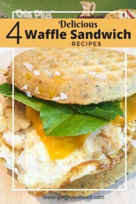 4 Delicious Waffle Sandwich Recipe Ideas