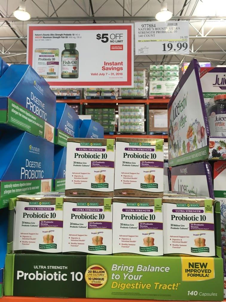 Probiotics at Costco