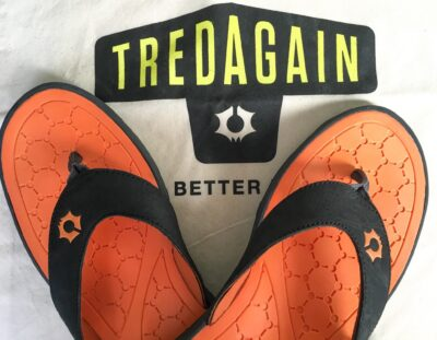 Flip Flops from Recycled Tires: TREDAGAIN