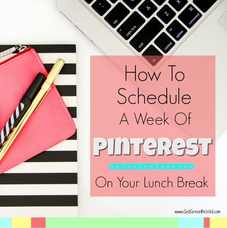 Schedule a week's worth of Pinterest in less than an hour! This social media management tool saves time when scheduling pins.