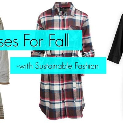 7 Dresses for Fall: Sustainable Fashion