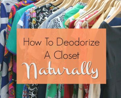 Best Ways to Deodorize a Closet Naturally