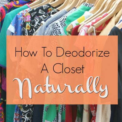 Best Ways to Deodorize a Closet Naturally
