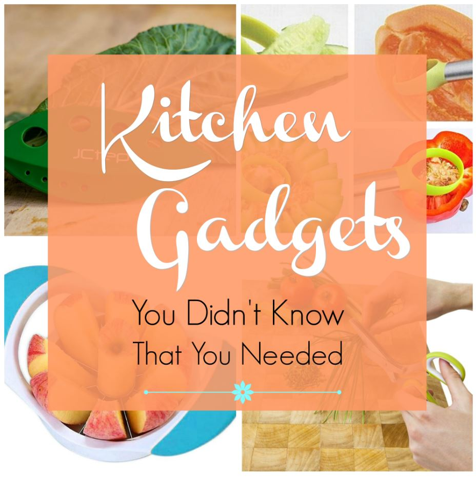 6 kitchen gadgets to save you time and make cooking easier. You might not have heard of these kitchen tools, but you'll wonder how you cooked without them! Click to see these time-saving gadgets.