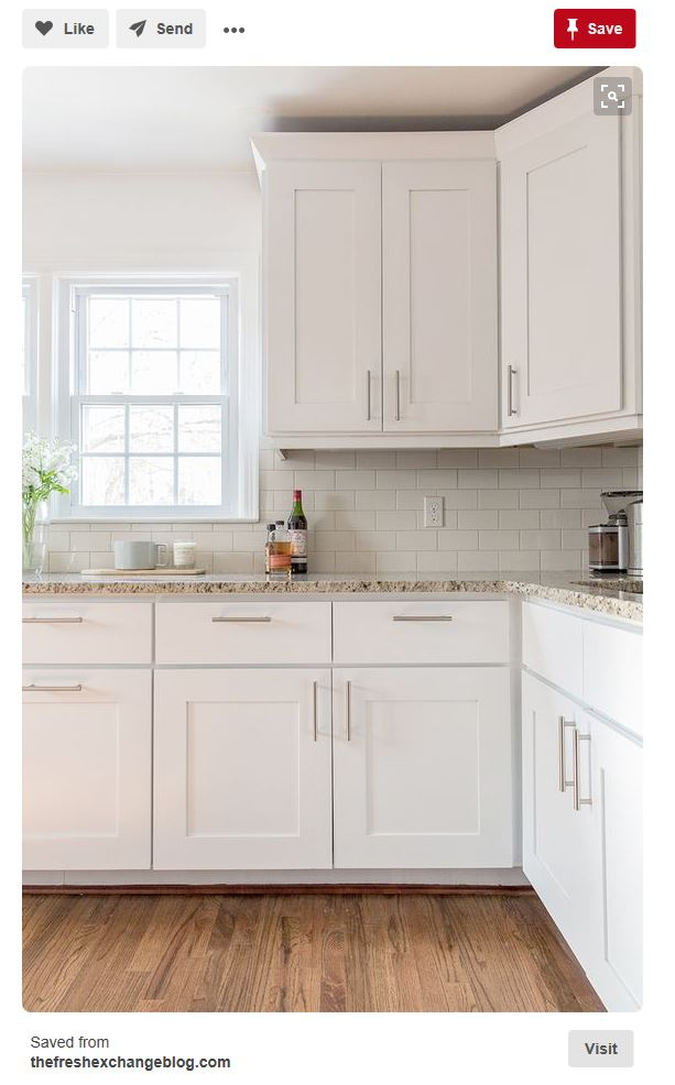 How to create a healthy white kitchen. From cabinets to flooring, the non-toxic choices you want.