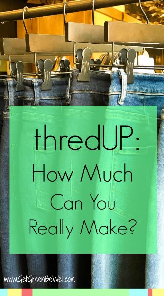 Online consignment store thredUP buys your clothes for cash. But is it worth it? Here's how much I REALLY made from selling my clothes online.