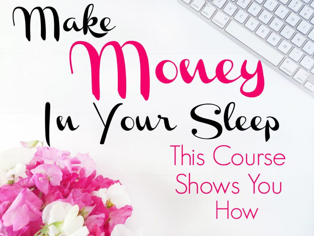 Want to make money with your blog? Affiliate marketing is an easy solution. You can make money while you sleep! The Making Sense of Affiliate Marketing course shows you the easy steps to take to monetize your blog.