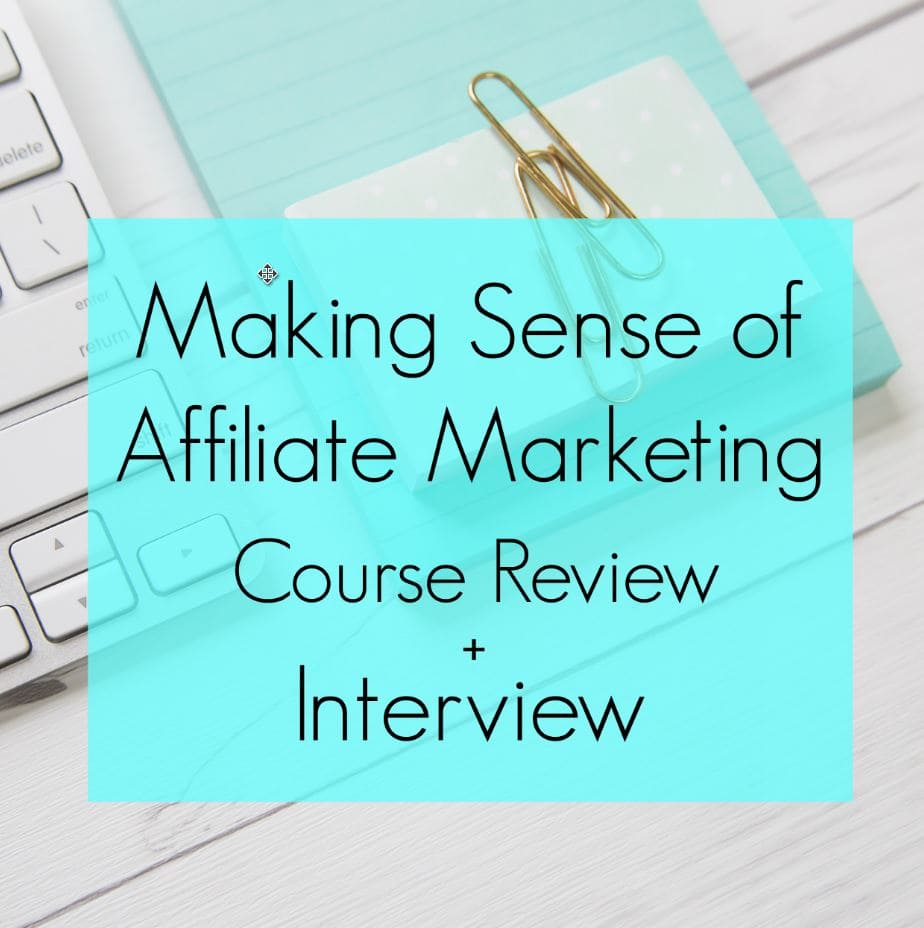 I tripled my income with this course in two weeks. Affiliate marketing is an easy solution to make money with a blog. Make money while you sleep! The Making Sense of Affiliate Marketing course shows you the easy steps to take to monetize your blog.