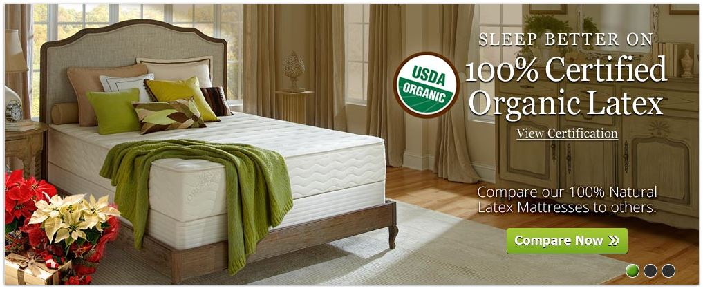 Organic mattress with a money back guarantee! Don't be afraid of commitment anymore! Try out a non-toxic, natural mattress with no fear - and get better sleep!