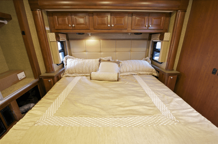 RV traveling? Where to find natural, healthy replacement mattress for your factory RV mattress. Super comfortable and supportive beds made of non-toxic materials.