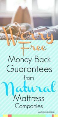 Natural Mattress Companies with Money Back Guarantees