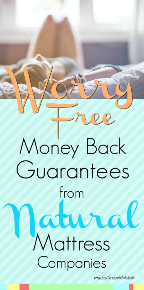 Natural Mattress Companies with Money Back Guarantees