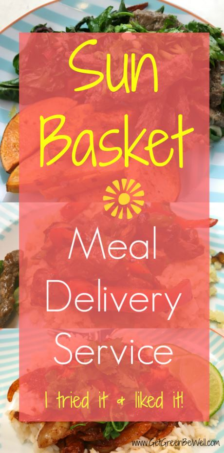 Need new recipes? Let Sun Basket prep everything for you and deliver the ingredients to your door! Non-GMO and Organic food prepped and delivered to your door each week saves SO much time and energy! Click for discount code and real life review from a person who hates to cook!