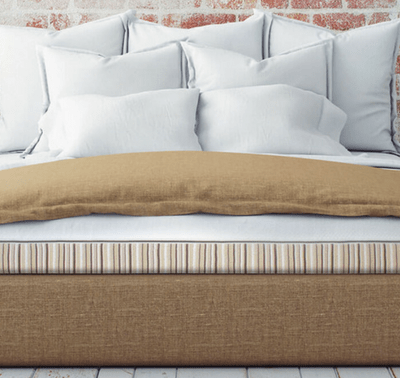 A natural memory foam mattress is possible! Loving this company called Essentia that makes non-toxic and comfortable beds and pillows!