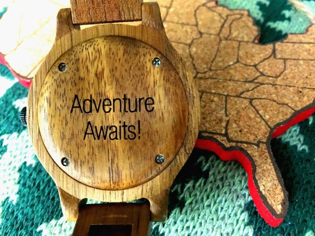 Engraved wood watch customizable JORD