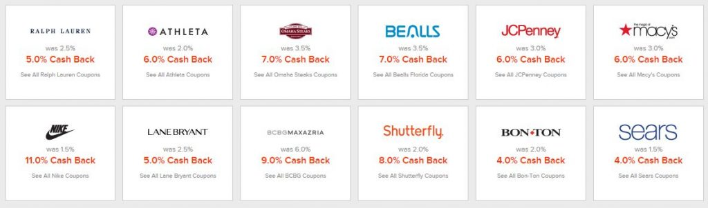 It's so easy to save money online with Ebates!!! Just log in, and look at how much more you can save with these instant rebates!