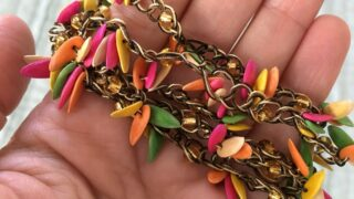 Jortra Jewelry made from melon seeds