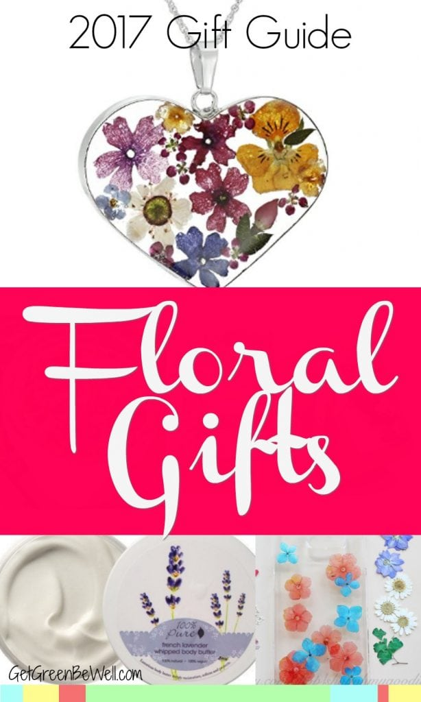 Flower Gifts that Won't Die! These floral gifts are like giving flowers, but they last a lot longer! 2017 Gift Guide to beautiful flower gifts that bring happiness!