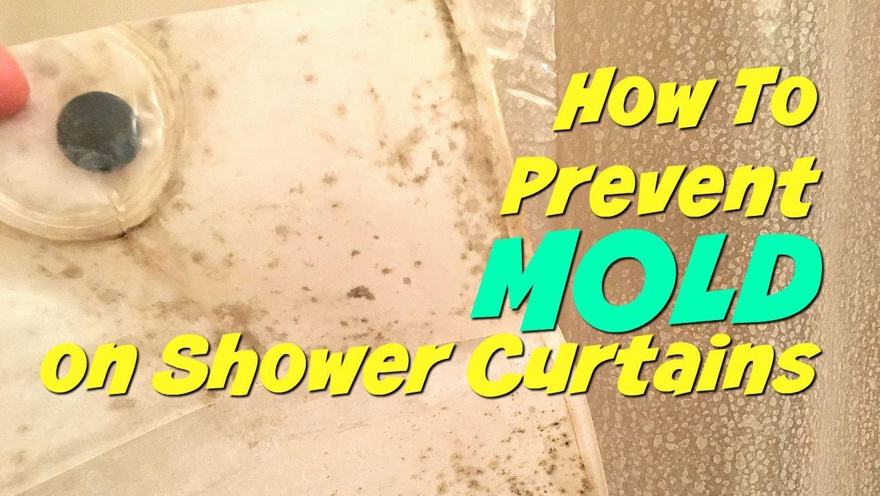Prevent Mold On Shower Curtain 3d Curtain Bathroom