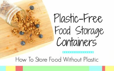 Plastic Free Food Storage Containers