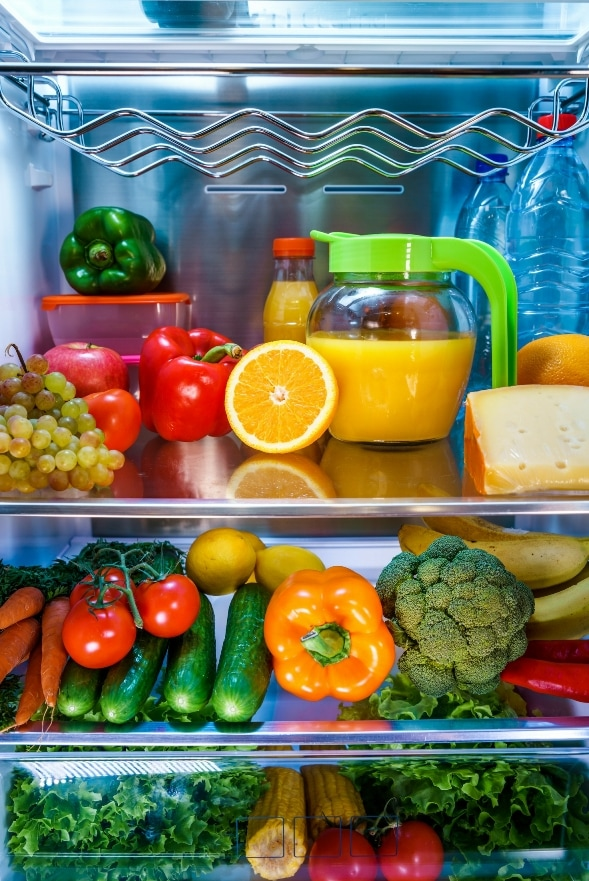 How to Get Rid of Odor in a Refrigerator - Get Green Be Well
