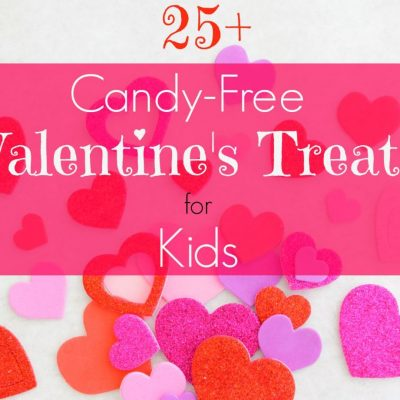 Candy-Free Valentines Day Treats and Gifts for Kids