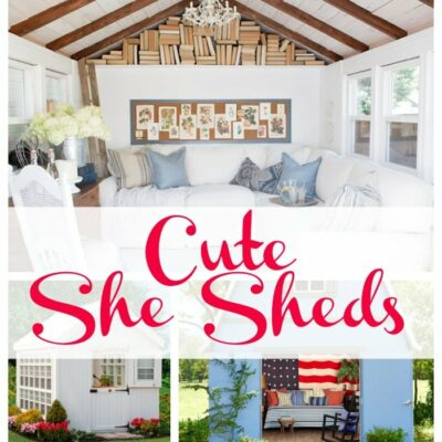 The Best Cute She Sheds for Women