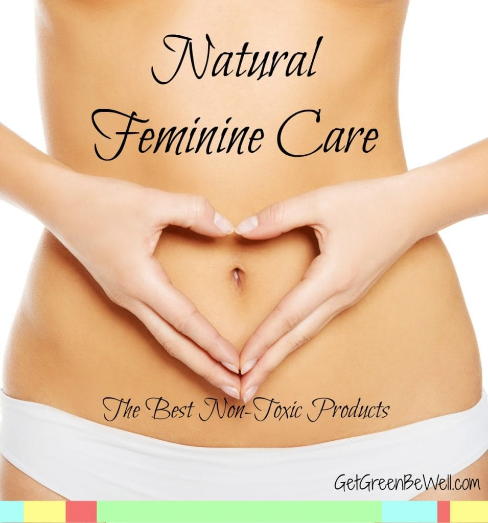 Natural, non-toxic feminine protection products are so important! Think about how sensitive this area of a woman's body is. The best pads and liners for your period without potentially toxic chemicals.