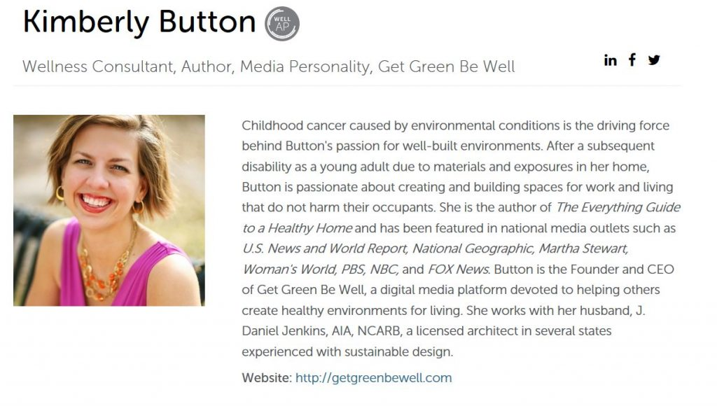 Kimberly Button WELL AP Wellness Consultant