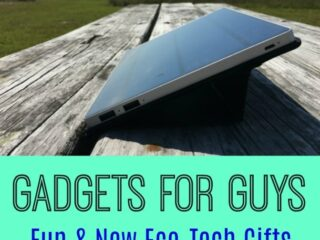 Great gift ideas for guys - especially the hard-to-buy for men in your life! These fun gadgets and gizmos are perfect for Father's Day, Graduation, Men's Birthdays and Christmas. The eco-friendly technology of these presents makes them practical yet unique.