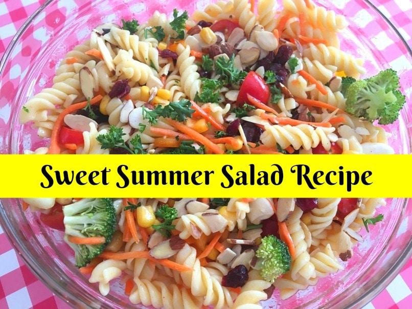 Sweet Summer Salad Recipe with Thrive Culinary Algae Oil