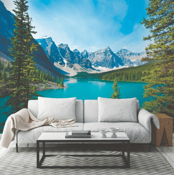 Wall Murals Nature wall murals: nature scenes to reduce stress - get green be well