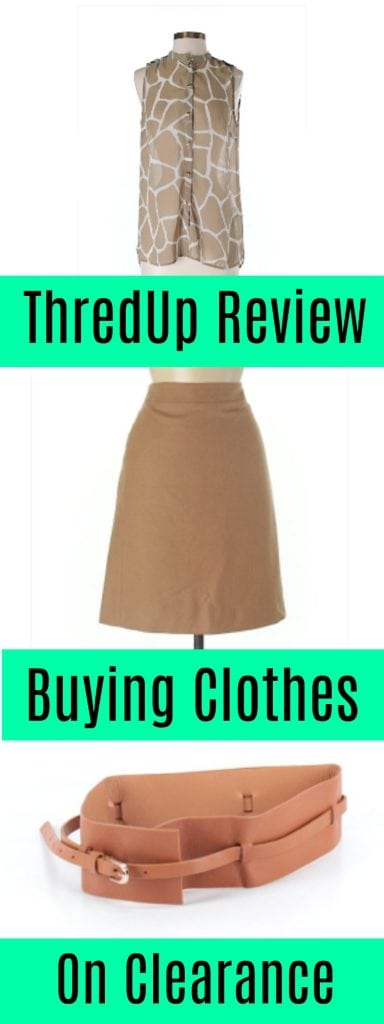 ThredUp has budget-friendly clothing at great prices. What is it REALLY like to shop on the site, though? Pics and honest thredUp review of buying clothing from the online consignment store where secondhand clothes create sustainable fashion for less. #secondhandfirst #sustainablefashion #budgetfriendlyfashion