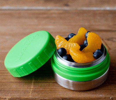 Measure out the right amount of food with these stainless steel snack containers. Portion control is easy with these non-toxic food storage ideas. Ideal for weight management and healthy eating on the go, these reusable metal containers make eating better easier!