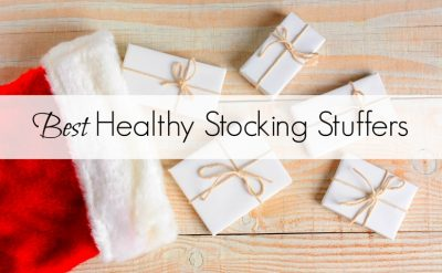 Best healthy stocking stuffer ideas that are affordable and budget friendly! The perfect tiny presents for men and women. These small gifts are great for everybody and include lots of choices for beauty, fitness, stress relief, foodies and fashionistas. #giftguide #stockingstuffers #christmas