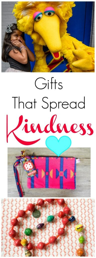 A gift guide that does good in the world. These presents are perfect ways to spread kindness. Gift a gift with meaning and help others while also gifting unique presents to family, friends or co-workers that will cheer them up, too. #giftguide #Christmas #Christmas2017 #GiftIdeas #GiftsThatDoGood #Kindness #BeHappy