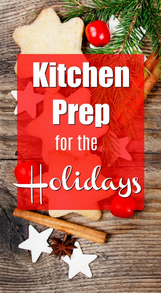 Get your kitchen ready for the holidays. What you need for baking for Thanksgiving and Christmas.